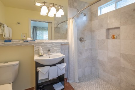 Welcome To Vendange Carmel Inn & Suites - Accessible Private Bathroom