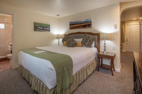 Vendange Carmel Inn & Suites: Queen Room